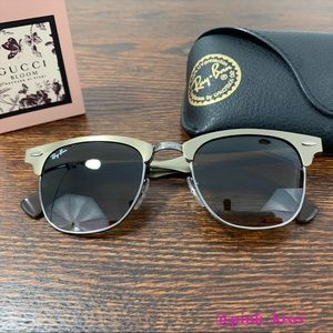 Ray-Ban Aluminum Clubmaster Sunglasses